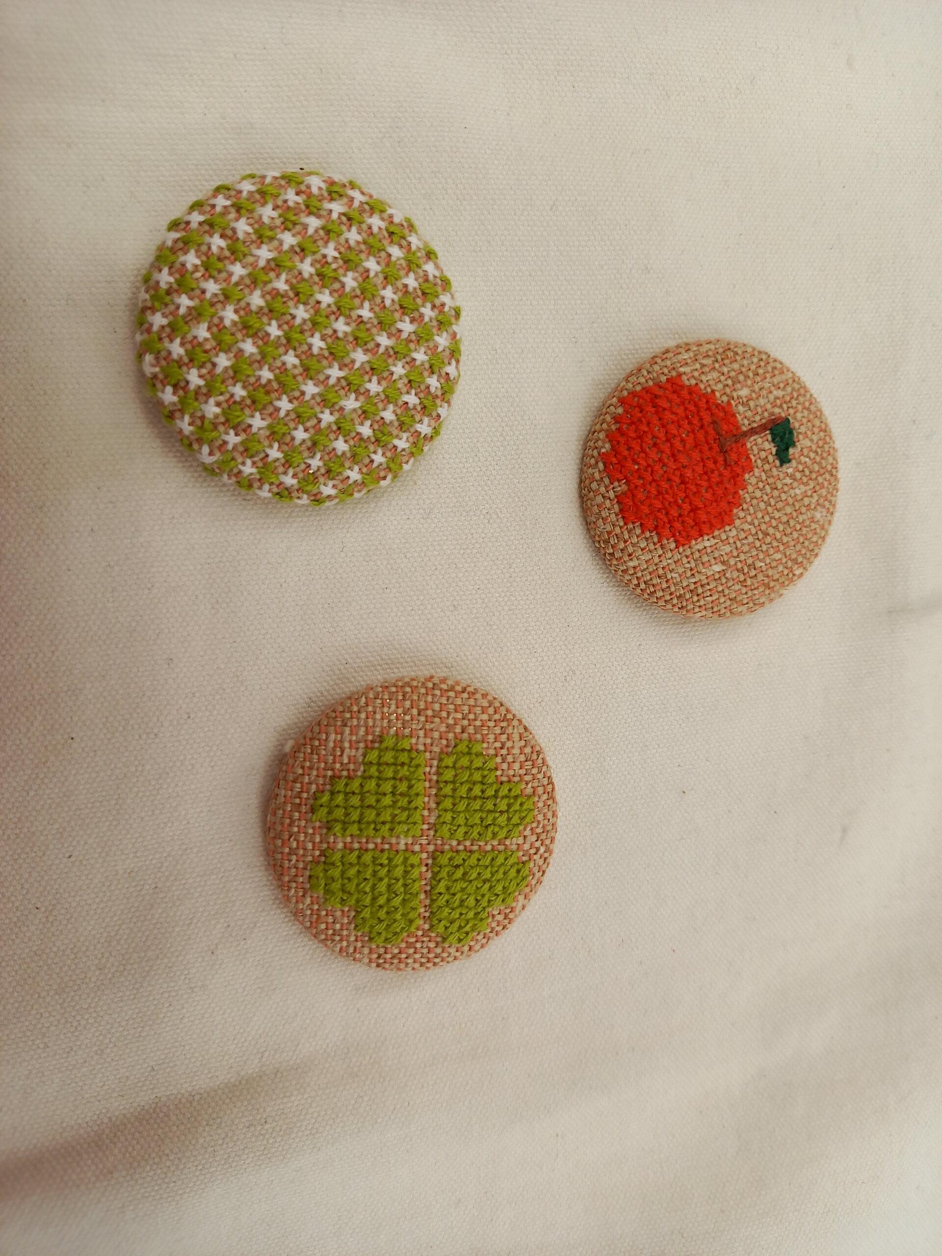 Mさんの刺繍作品