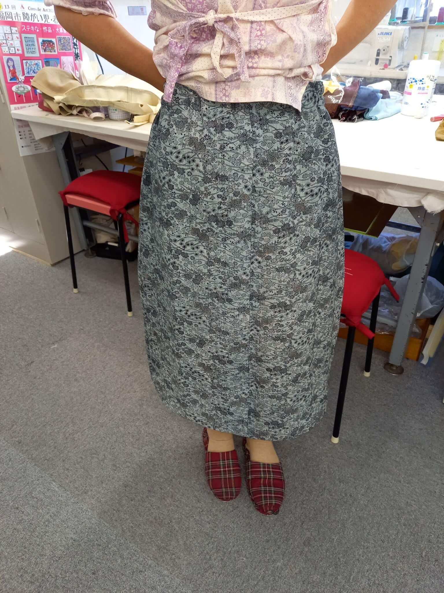 スカート作成